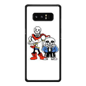 Papyrus And Undertale Sans Samsung Galaxy Note 8 Case