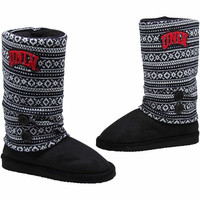 UNLV Rebels Ladies Retro Boots - Black/White