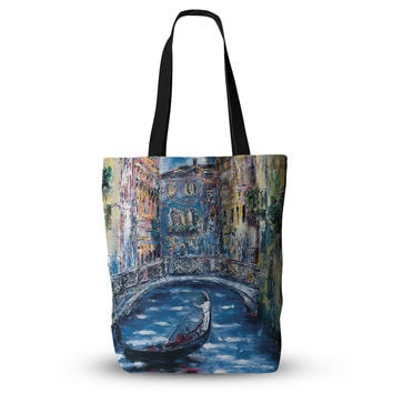 "Josh Serafin ""Venice"" Travel Italy Everything Tote Bag"