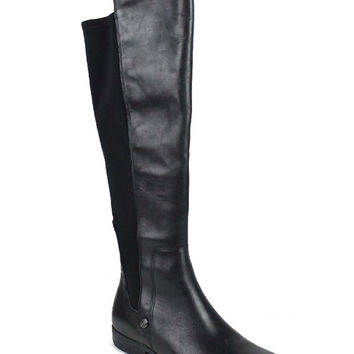 Anne Klein Women's Citygurl Leather Riding Boots