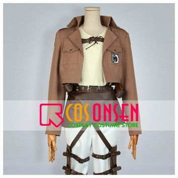Cool Attack on Titan COSPLAYONSEN  Military police regiment Jean Kirschstein Cosplay Costume Adult Costume Custom Made AT_90_11