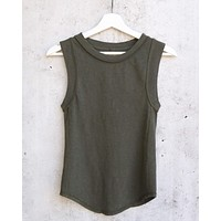 Free People - We The Free Go To Tank - Army Military Green