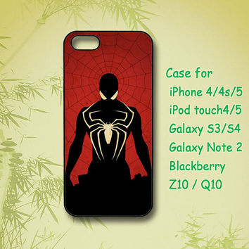 Spiderman, iPhone 5 Case, iPhone 4S Case,ipod case, Samsung Galaxy S4, Samsung Galaxy S3, Samsung note 2, blackberry z10, Q10