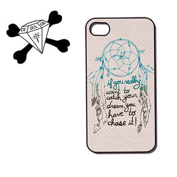 dream catcher plastic iPhone 4 Case, iPhone 4s Case, iPhone Case (90047) Quote
