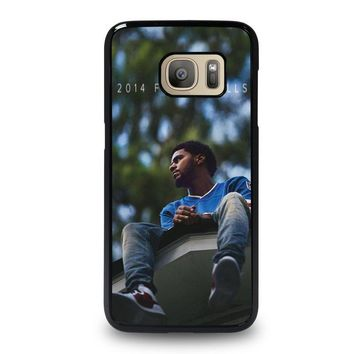 j cole forest hills samsung galaxy s7 case cover  number 1