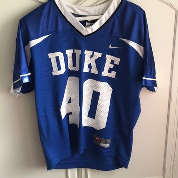 Duke Lacrosse Jersey, New with Tags