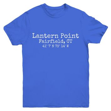Lantern Point Fairfield CT   Youth and Toddler Unisex T-Shirts