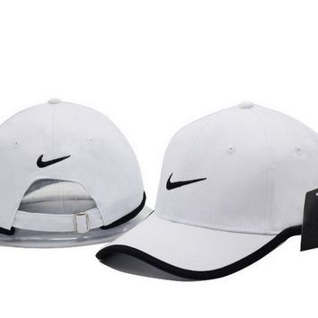 Cool NIKE GOLF NEW Adjustable Fit DRI FIT SWOOSH FRONT BASEBALL CAP HAT-2