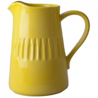Large Ceramic Water Jug (yellow)
