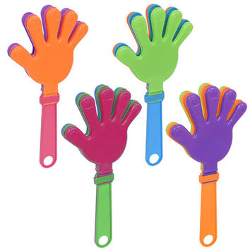 Bulk Plastic Hand Clappers, 9.5 in. at DollarTree.com
