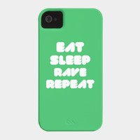 EAT SLEEP RAVE REPEAT Case For Iphone Or Galaxy