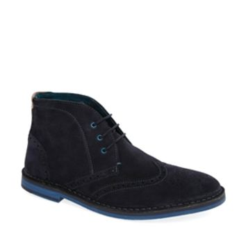 Ted Baker Kidde Brogue Desert Boots - Blue