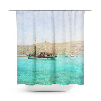 At Sea 1 Shower Curtain