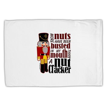 More Nuts Busted - My Mouth Standard Size Polyester Pillow Case by TooLoud