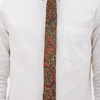 Abstract Tapestry-Woven Tie