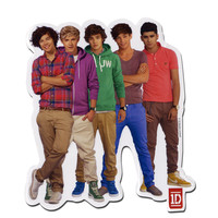 One Direction Group Photo Sticker
