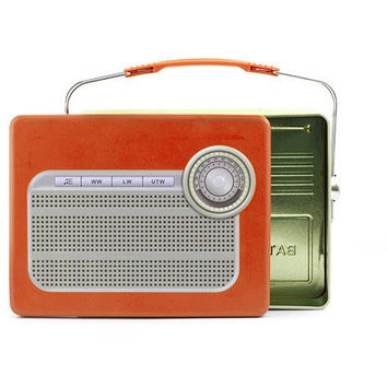 Radio Tin Lunch Box