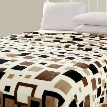 CABINAHOME® Best Product 2017 Bedroom,Blankets,Bedding,Carpets,Doormats & Rugs,Lattice blanket,fiber blanket,Rugs,Home Decor,Sof