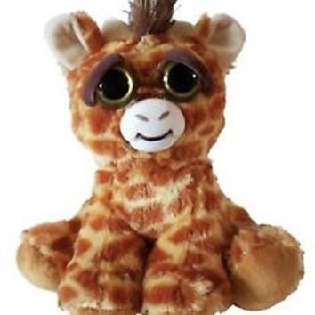 "FEISTY PETS 8"" PLUSH, GINORMOUS GRACIE THE MAMA GIRAFFE"