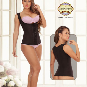 Latex Vest Cincher by Anna Marye