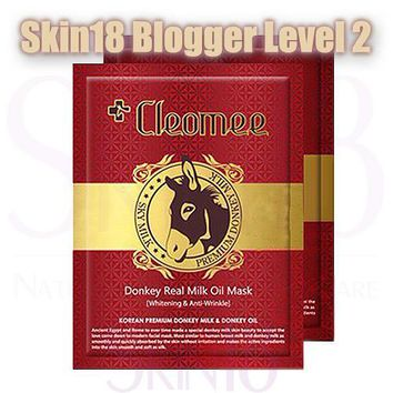 Blogger's Pack (Level 2) Cleomee Donkey Real Milk Oil Mask x 2pcs