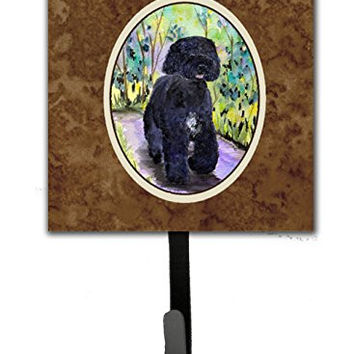 Caroline's Treasures SS8264SH4 Portuguese Water Dog Leash Holder or Key Hook, Small, Multicolor