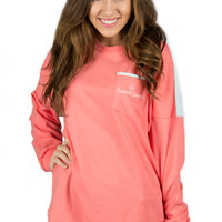 Lauren James: Beachcomber {Coral/Mint}