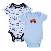 INFANT TWO PIECES BODY SUIT - 0 TO 12M