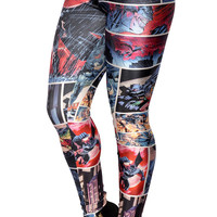 Batman and Robin Leggings Design 457