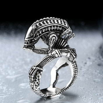 Ghost Era - Alien Ring - Silver