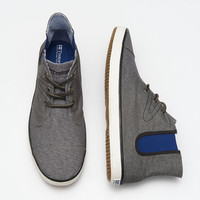 Öken Boot Canvas - Men's Gray Canvas Shoes | Tretorn