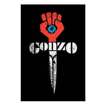 Gonzo Journalism Fist Poster