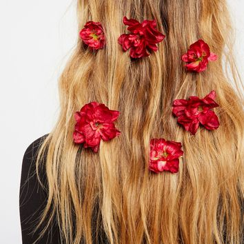 Free People Franny Flower Hair Pins