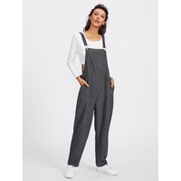 Switch It Up Overalls - Grey