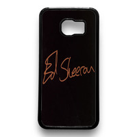 Ed sheeran Samsung Galaxy S6 Case