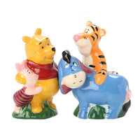 Disney Winnie The Pooh Character Salt & Pepper Shakers