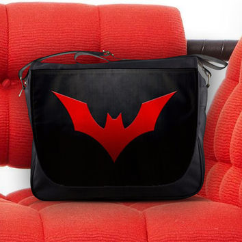 Batman Beyond of the Future Justice League Unisex Messenger Sling Laptop Notebook School Bag