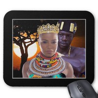 My African Queen Mouse Pad
