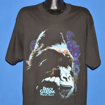 90s Busch Gardens Myombe Reserve Gorilla t-shirt Extra Large