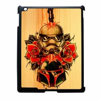 Star Wars Roses Tatto In Wood iPad 2 Case