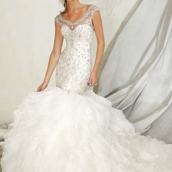 Mori Lee Angelina Faccenda 1256 Wedding Dress