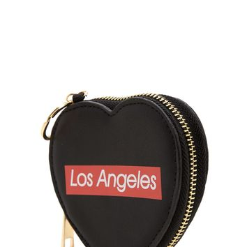Los Angeles Graphic Coin Purse