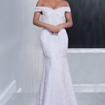 Avila Lace Wedding Dress