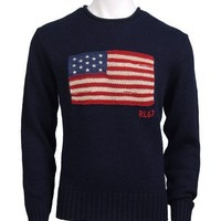 Polo Ralph Lauren Star Spangled Banner Flag Knit Sweater