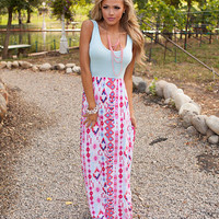 Tribal Diamonds Maxi