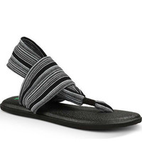 Yoga Sling 2 Black White Flip Flops