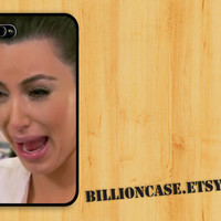 Kim Kardashian Crying Ugly Face  - iPhone 4 Case iPhone 4s Case iPhone 5 Case idea case Galaxy Case