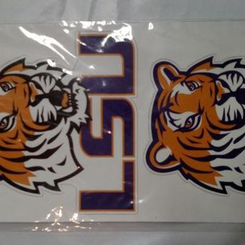 DCCKG8Q NCAA LSU Multi Pack Decals