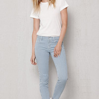 PacSun Retro Stripe Ripped Low Rise Skinny Ankle Jeans at PacSun.com