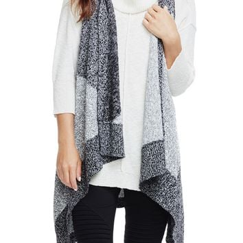 Two by Vince Camuto Knee-Length Intarsia Vest | Nordstrom